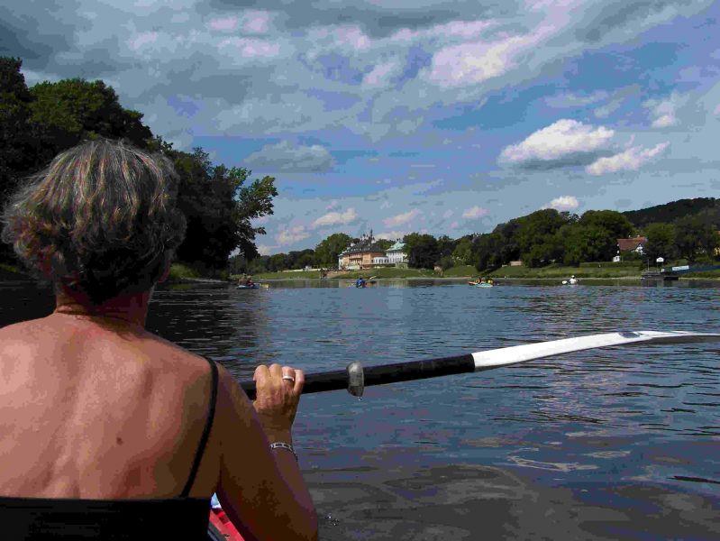 Elbtrilogie Teil Iii Mit Dem Kanu Auf Der Elbe Paddel Urlaub